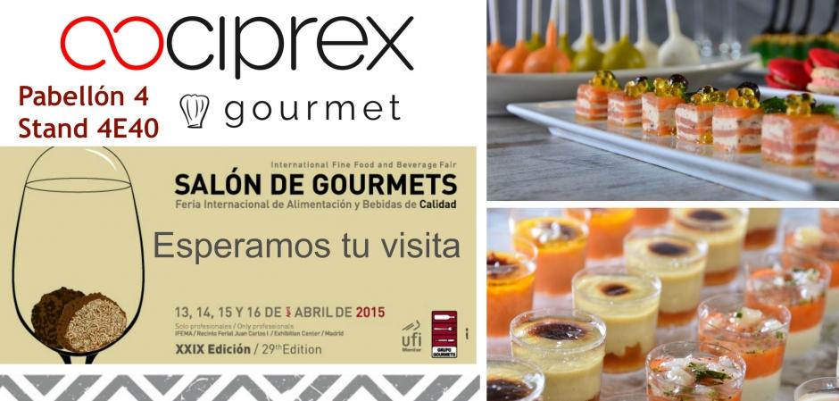 Salón Gourmets Madrid - Cociprex pabellón 4 Stand 4E40